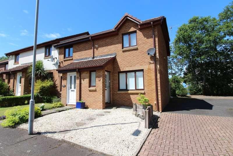 2 Bedrooms End Of Terrace House for sale in Macintyre Road, Prestwick, KA9