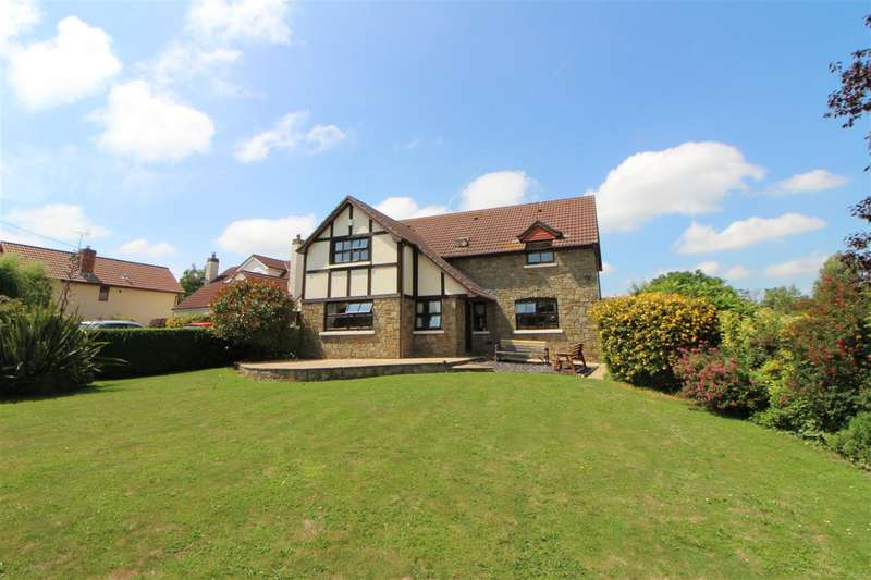 4 Bedrooms Detached House for sale in Crossways Close, Undy