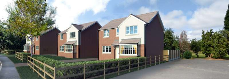 4 Bedrooms Detached House for sale in Plot 1, Turners Hill, Off Oakham Road, Rowley Regis, West Midlands, B65