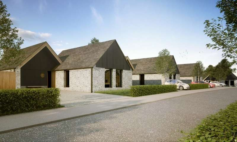 3 Bedrooms Detached Bungalow for sale in Plot 70 The Goldsworthy, Burfitt Road, Ansford, Castle Cary