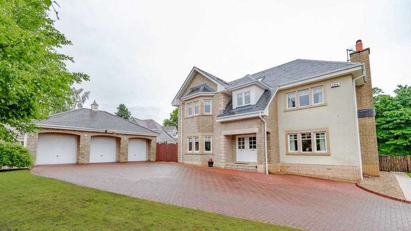 6 Bedrooms Detached House for sale in Castle View, Airth, Falkirk