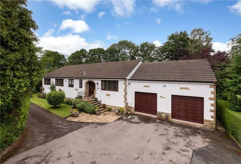 3 Bedrooms Detached Bungalow for sale in Leeside, Bradford Road, Cottingley Bridge, Bingley