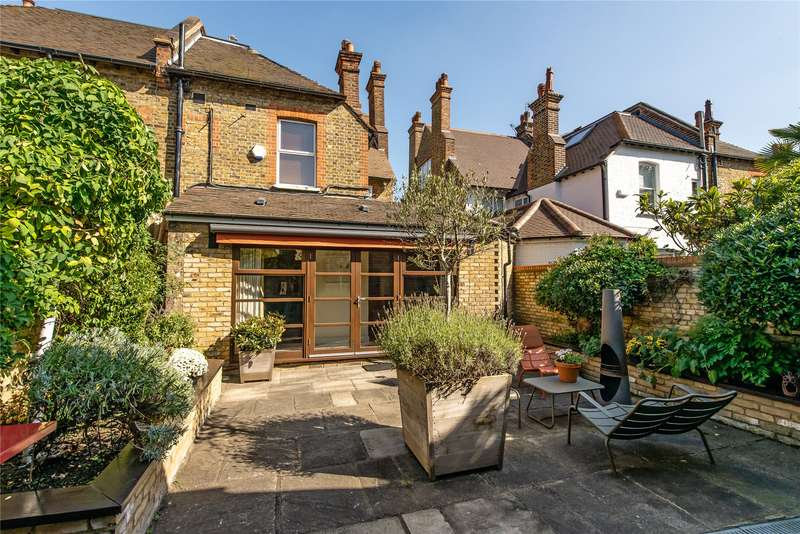 5 Bedrooms Semi Detached House for sale in Courthope Road, Wimbledon, London, SW19