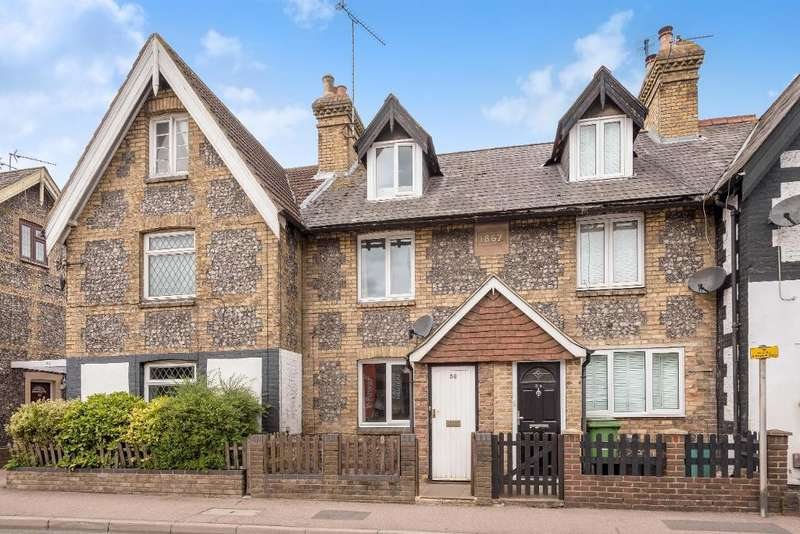 3 Bedrooms Terraced House for sale in High Street, Green Street Green, Orpington, Kent, BR6 6BJ
