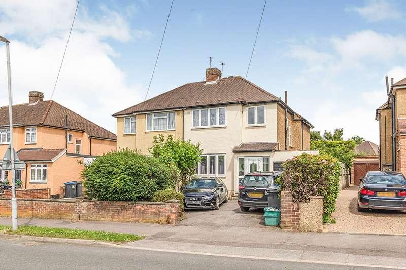 3 Bedrooms Semi Detached House for sale in Devon Way, Chessington, Surrey, KT9
