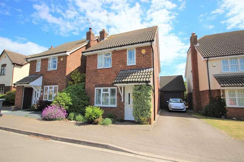 3 Bedrooms Detached House for sale in Parmiter Way, Ampthill, Bedfordshire, MK45
