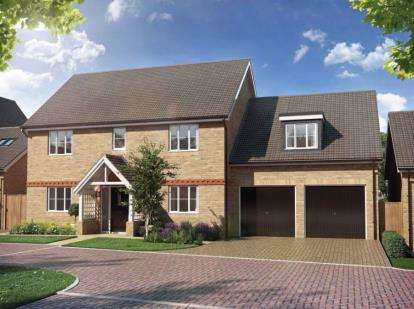 5 Bedrooms Detached House for sale in The Ridings, Upper Caldecotte