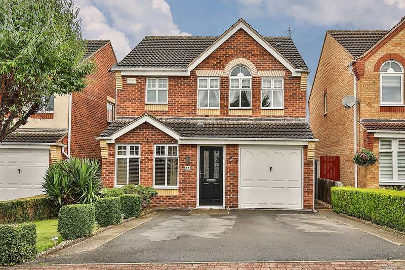4 Bedrooms Detached House for sale in Town Wells Court, Anston, Sheffield, South Yorkshire, S25