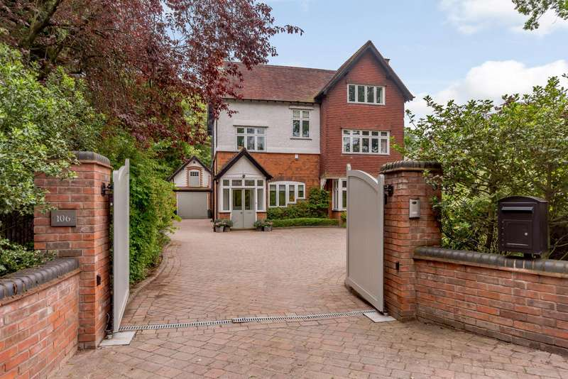 7 Bedrooms Detached House for sale in Rosemary Hill Road, Sutton Coldfield, West Midlands