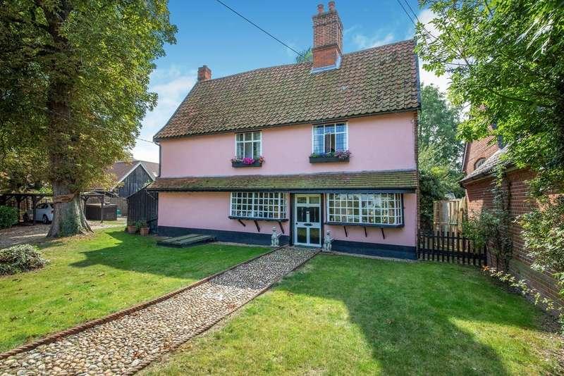 3 Bedrooms Detached House for sale in Worlingworth, Woodbridge