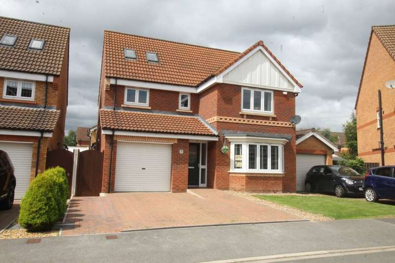 5 Bedrooms Detached House for sale in Wakelam Drive, Armthorpe, Doncaster, DN3