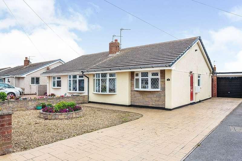 2 Bedrooms Semi Detached Bungalow for sale in Inglewood Close, Fleetwood, FY7