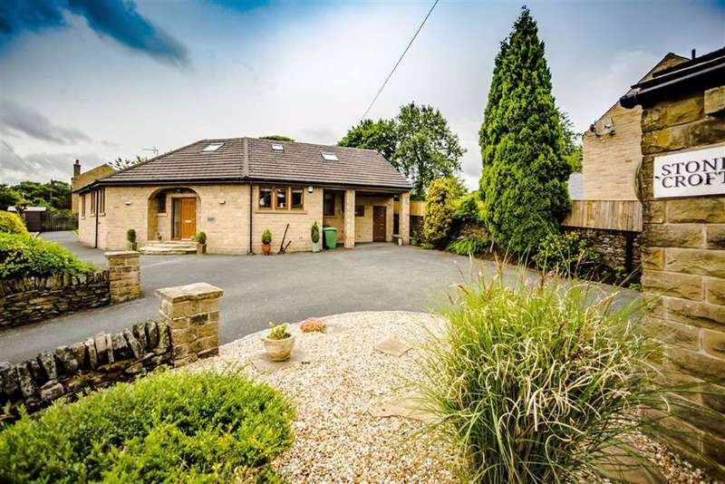 5 Bedrooms Detached House for sale in Stoney Bank Lane, New Mill, Holmfirth