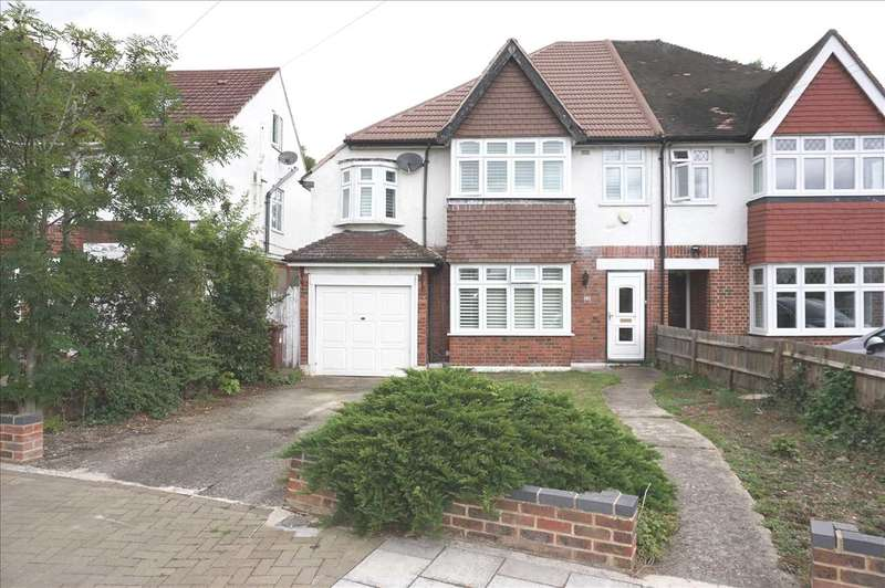 3 Bedrooms Semi Detached House for sale in Leigham Drive, Osterley