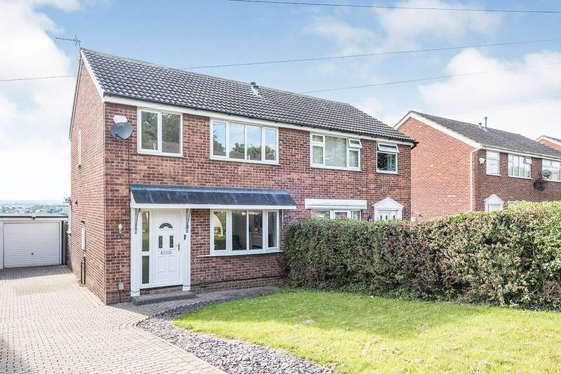 3 Bedrooms Semi Detached House for sale in Pildacre Brow, Ossett, West Yorkshire, WF5