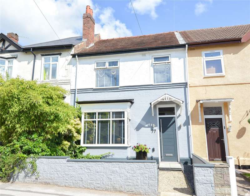 3 Bedrooms Terraced House for sale in Upper St. Marys Road, Bearwood, West Midlands, B67