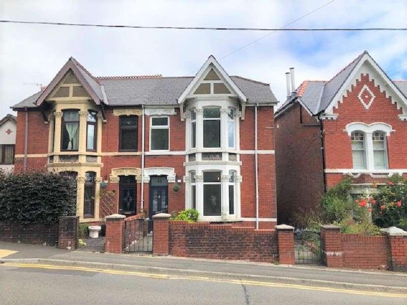 3 Bedrooms Semi Detached House for sale in Neath Road, Maesteg, Bridgend. CF34 9EE
