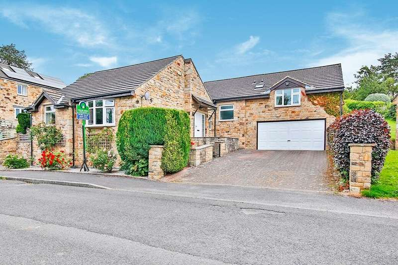 4 Bedrooms Detached Bungalow for sale in Spring Close, Ebchester , Consett, DH8