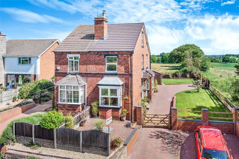 3 Bedrooms Semi Detached House for sale in Hartlebury Road, Stourport-on-Severn, Worcestershire, DY13
