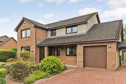 4 Bedrooms Detached House for sale in Tukalo Drive, Strathaven
