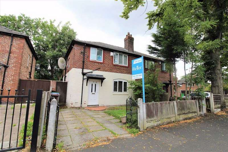 3 Bedrooms Semi Detached House for sale in Mauldeth Road West, Manchester