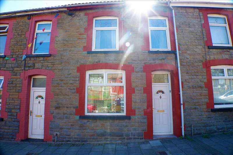 3 Bedrooms Terraced House for sale in Aldergrove Road, Porth