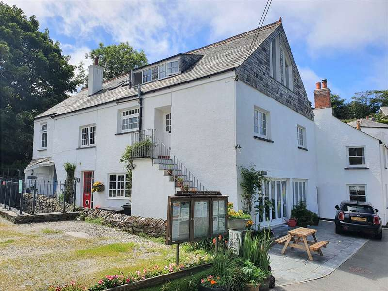 5 Bedrooms Semi Detached House for sale in Dunn Street, Boscastle, Cornwall, PL35