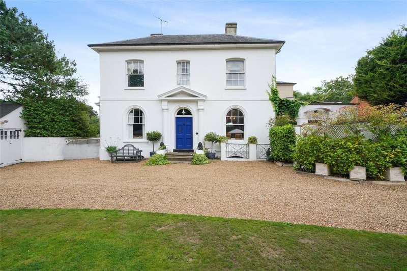 3 Bedrooms Maisonette Flat for sale in Woburn Hill, Addlestone, Surrey, KT15