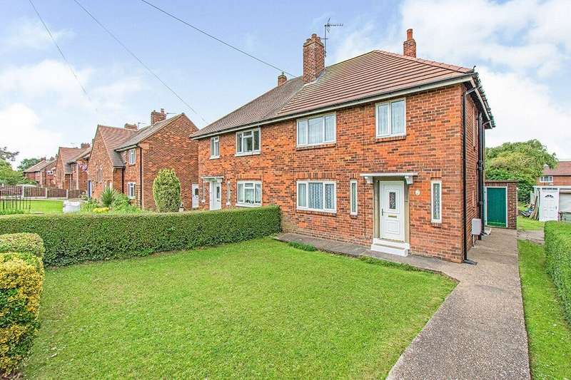 4 Bedrooms Semi Detached House for sale in Lodge Road, Carcroft, Doncaster, DN6
