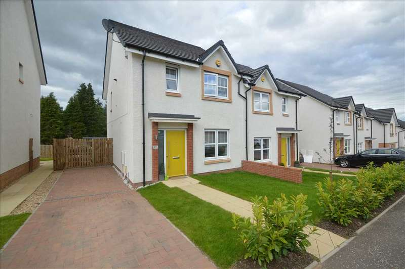 3 Bedrooms Semi Detached House for sale in Lady Nancy Crescent, Blantyre