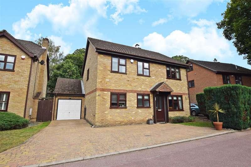 4 Bedrooms Detached House for sale in Barncroft Drive, Hempstead, Gillingham