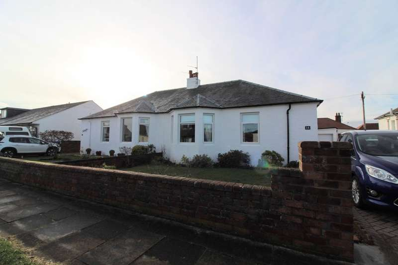 2 Bedrooms Semi Detached Bungalow for sale in Crawford Avenue, Prestwick, KA9