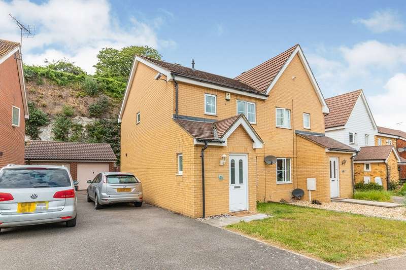 3 Bedrooms Semi Detached House for sale in Maritime Gate, Gravesend, Kent, DA11