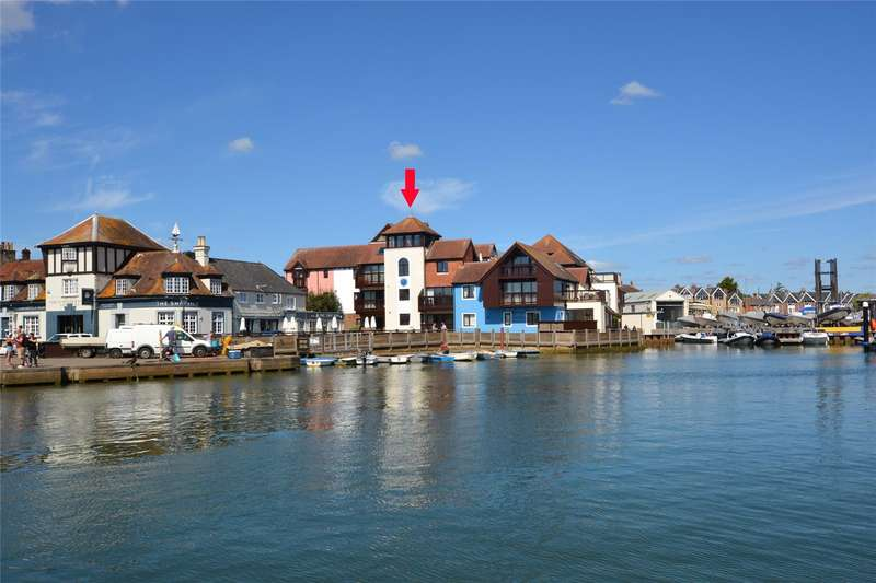 2 Bedrooms Flat for sale in Fishermans Quay, Mill Lane, Lymington, Hampshire, SO41