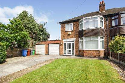 3 Bedrooms Semi Detached House for sale in Longley Lane, Manchester, Greater Manchester