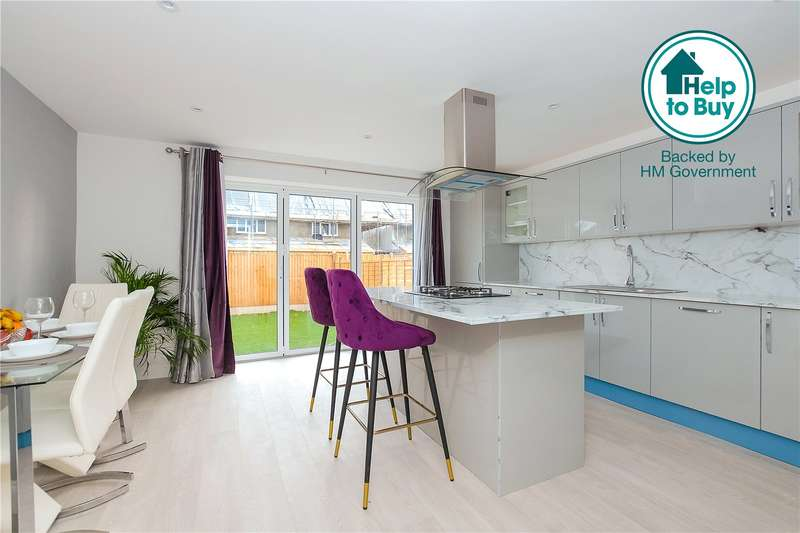 3 Bedrooms Semi Detached House for sale in Otterfield Road, Yiewsley, West Drayton, Middlesex, UB7