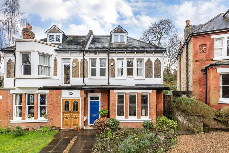 4 Bedrooms Semi Detached House for sale in Fox Hill Gardens, London, SE19