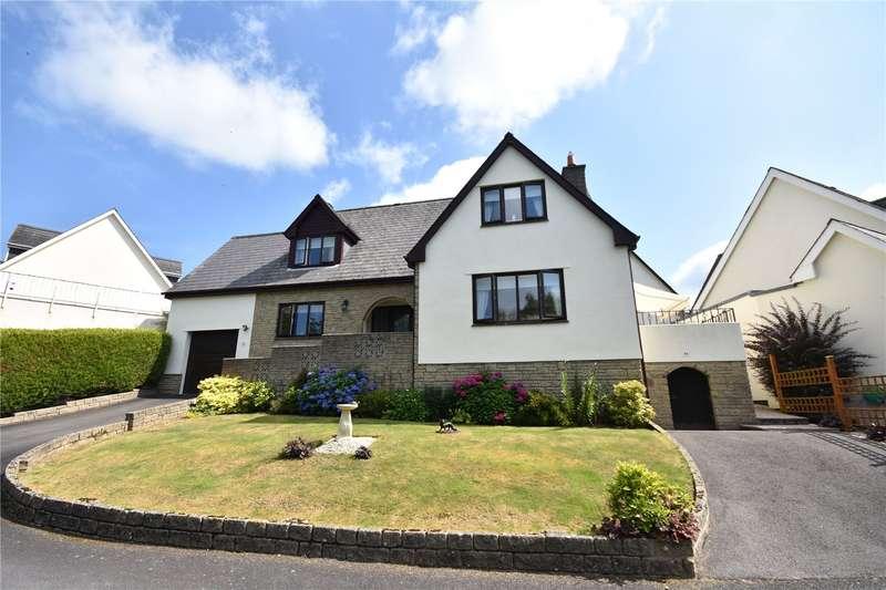 3 Bedrooms Detached House for sale in Fairways Drive, High Bickington, Umberleigh, Devon, EX37