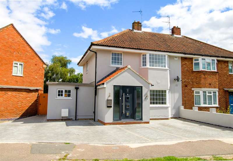 4 Bedrooms Semi Detached House for sale in Stalin Road, Colchester, CO2