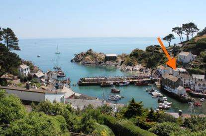 2 Bedrooms Semi Detached House for sale in Polperro, Looe, Cornwall