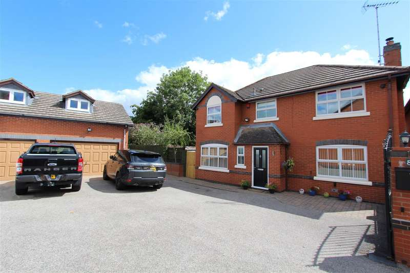 5 Bedrooms Detached House for sale in Wilcox Close, Bishops Itchington