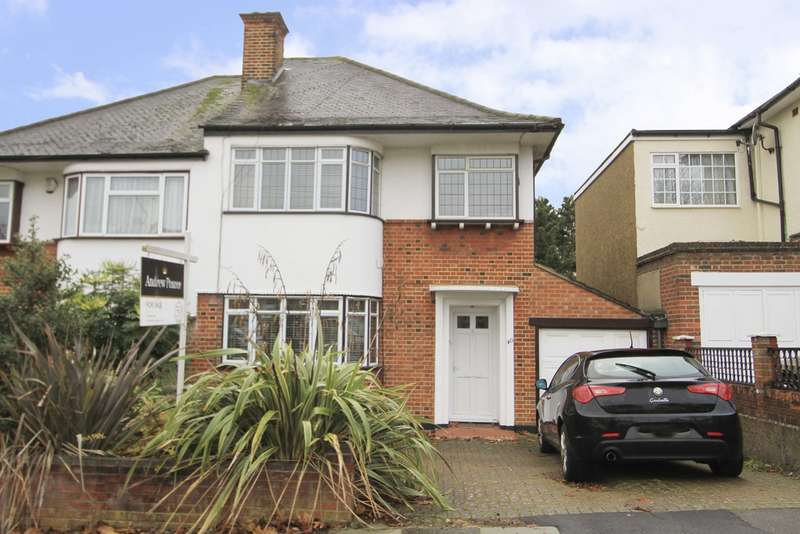 3 Bedrooms Semi Detached House for sale in The Ridgeway, Harrow