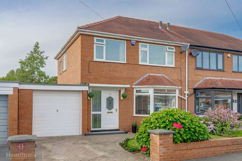 3 Bedrooms Semi Detached House for sale in Kirkham Road, Leigh, Greater Manchester. WN7 3UQ