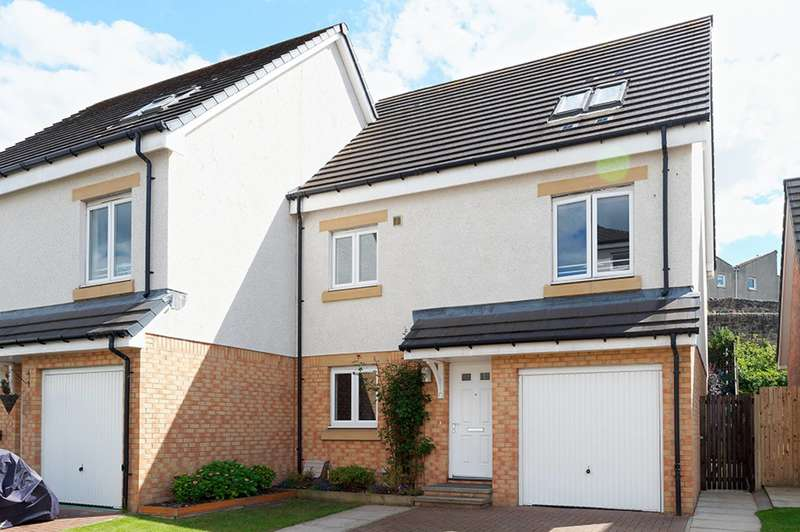 5 Bedrooms Semi Detached House for sale in Pikes Pool Drive, Kirkliston, EH29 9GH