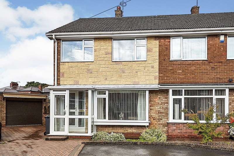 3 Bedrooms Semi Detached House for sale in Moorbeck Close, Hull, East Yorkshire, HU6