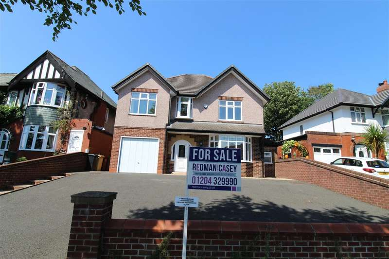 4 Bedrooms Detached House for sale in Lever Park Avenue, Horwich, Bolton