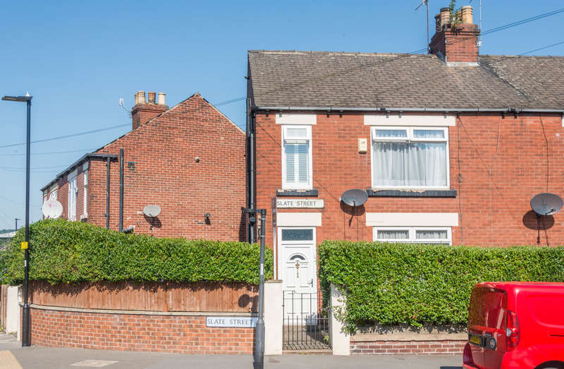 3 Bedrooms End Of Terrace House for sale in Slate Street, Heeley
