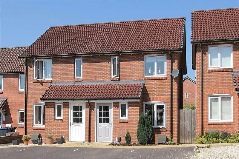 2 Bedrooms Semi Detached House for sale in Pickernell Road, Tidworth
