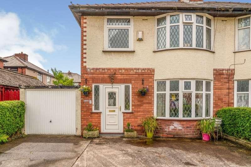 3 Bedrooms Semi Detached House for sale in Cavendish Crescent, Preston, Lancashire, PR2