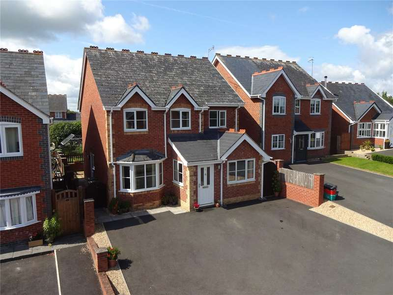 4 Bedrooms Detached House for sale in 5 Heritage Green, Forden, Welshpool, Powys, SY21 8LH